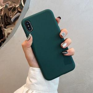 Other - Dark Green iPhone Case slim 7 8 Plus X XS XR Max